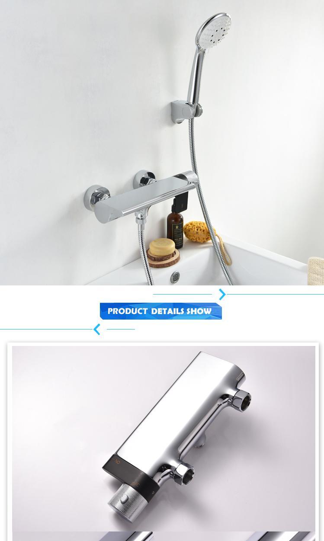 Weixiang Factory Reddot Award Winner Thermostatic Bathroom Shower Faucet Mixer