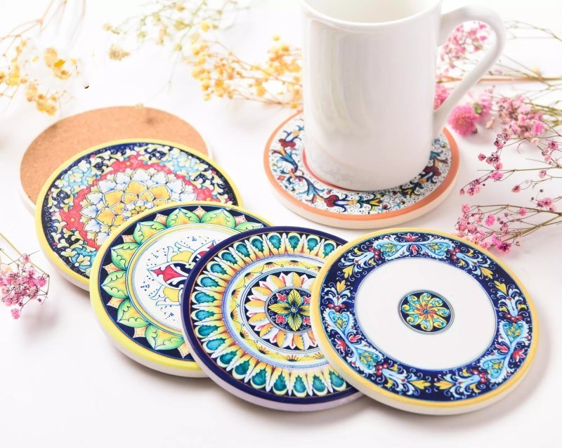 Disposable Custom Printed Paper Beer Drinks Coasters Bar Cup Pad Coasters