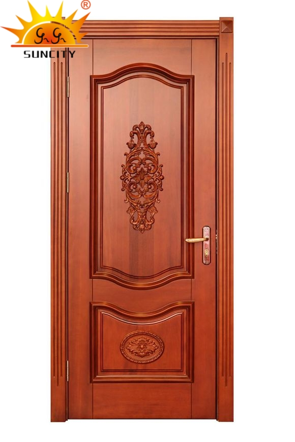 Sales Single Interior Solid Wooden Doors (SC-W048)