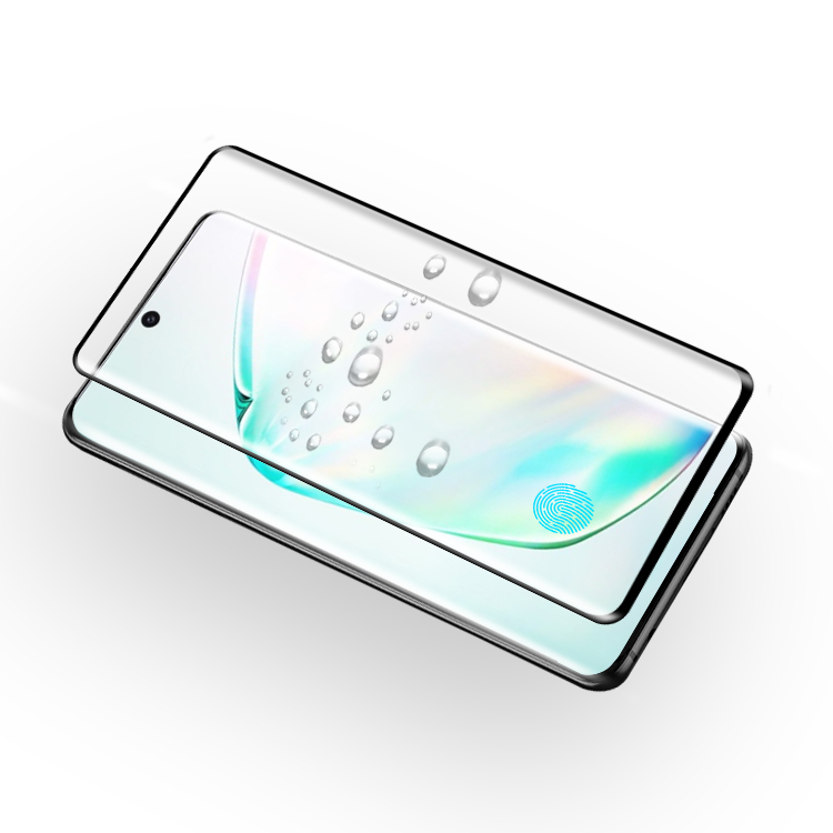 Waterproof tempered glass protector for Samsung Note 10