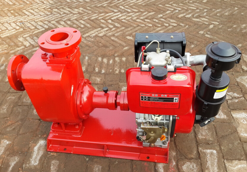 CYZ electric fuel pump driven by gasoline engine