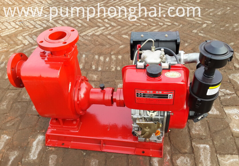 CYZ centrifugal pump driven by gasoline engine: