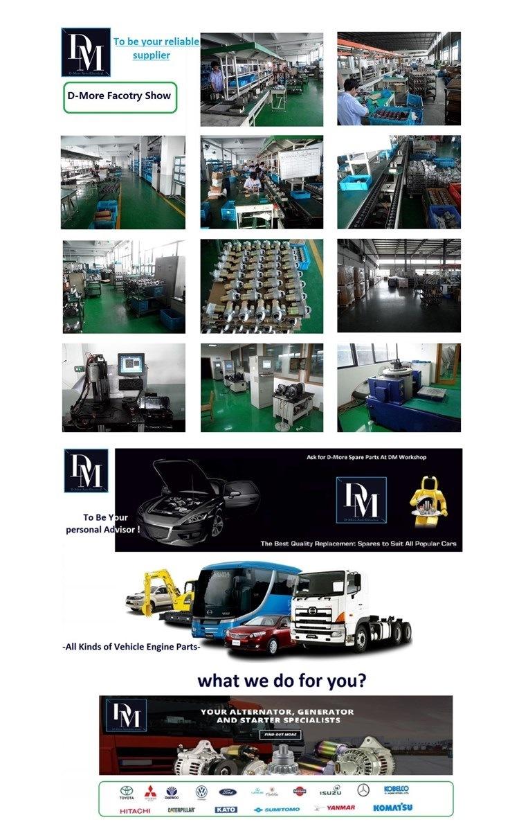 Nippon Denso Starter Motor 128000-7680 Toyota Hiace 2.4L