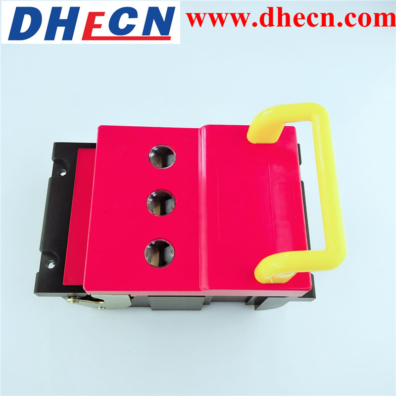 Hr6-160A 3 Pole Fuse Type Isolation Switch Used in Rated Voltage AC380V and 660V