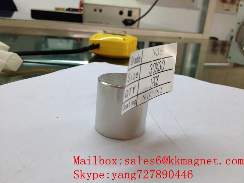 permanent magnet neodymium magnet stop water magnet 30X30