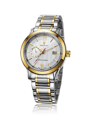 2016 Automatic Stainless Steel Couple Wrist Watch