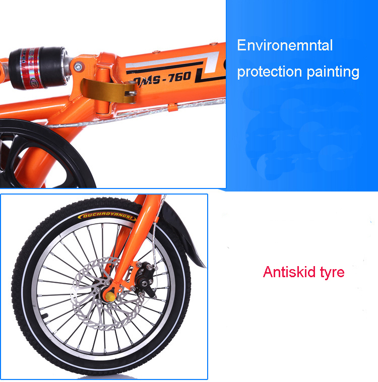 Best Price Offer Aluminum Alloy Rim Foldable Bike