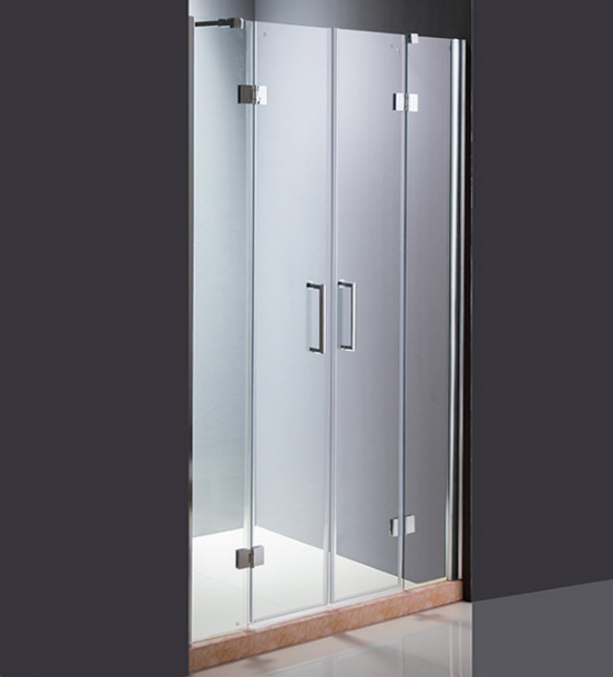 2 Hinge Door Glass Shower Screen (ADL-8A5)