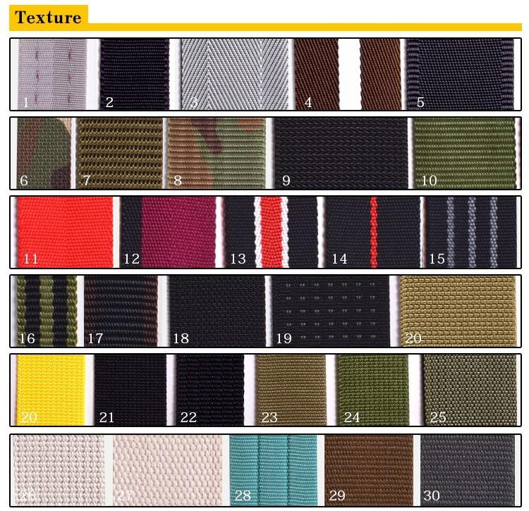 Tie Down Black Kevlar/Nylon/Cotton Elastic Band for Seat Belts