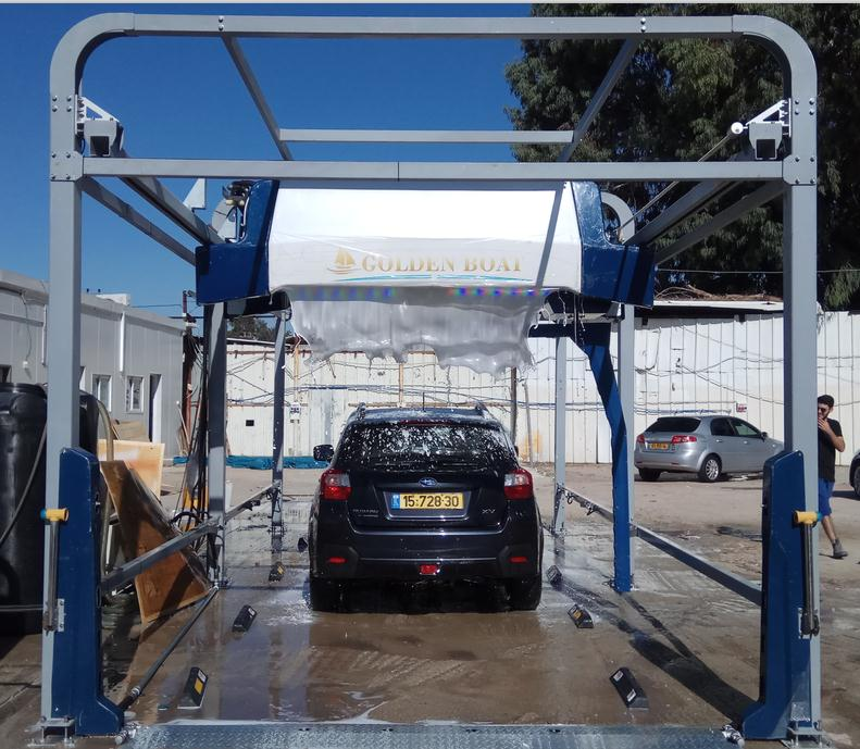Touch Free Automatic Car Wash Machine