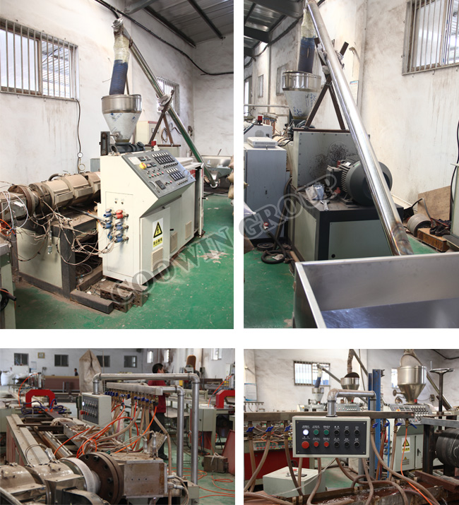 Wood Plastic Composite Decking Production Line / PVC Profile Extrusion Line