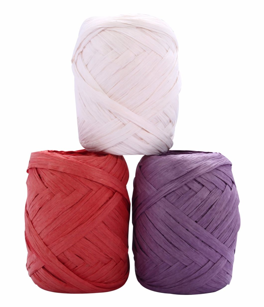 Manufactured 5mm~20mm Wide Paper Raffia Rope Wholesale