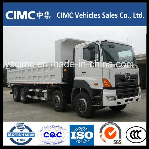 High Quality 40 Ton Hino 8X4 Dump Truck for Sale