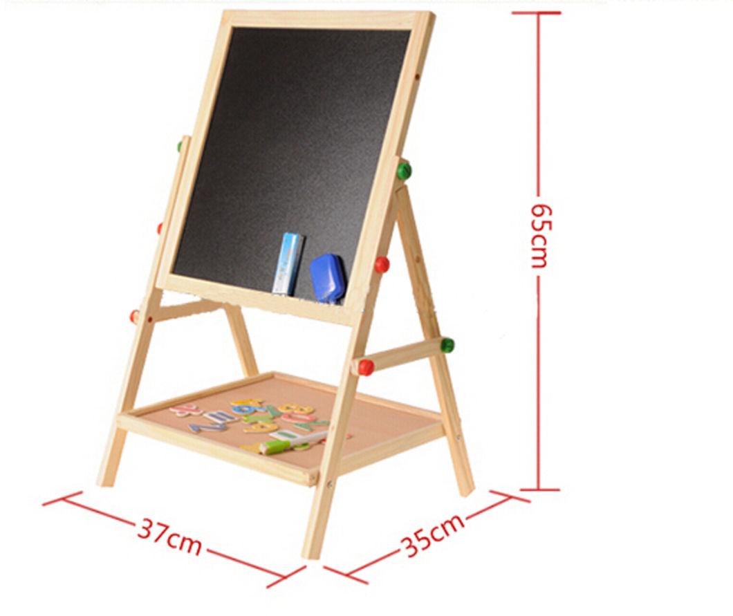 Wooden Chalkboard, Black Board, Kids Toy