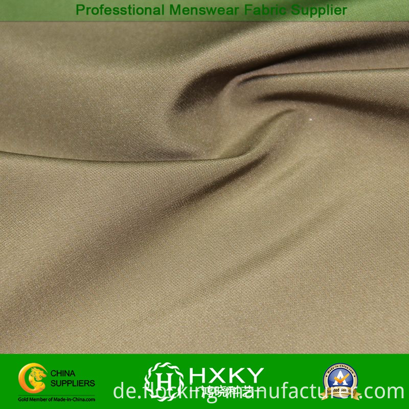 Stretch Poly Fabric with Bicolor Design for Men's Jacket