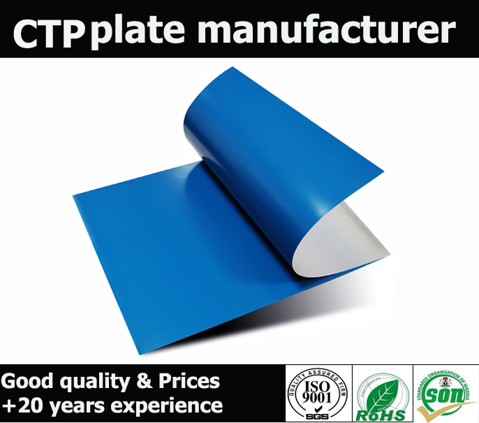 High Resolution Thermal CTP Positive Plate