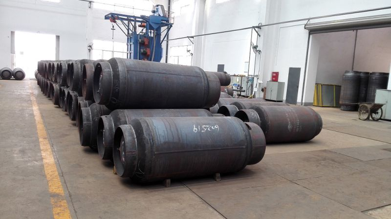 1000L (1000kg) Stainless Steel Welded Gas Cylinder with Valves for R134A, R22, Refrigerrnt Gas