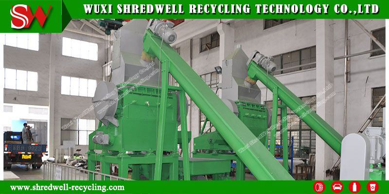Hot Selling Old Tire Recycling Granulator (RG90)