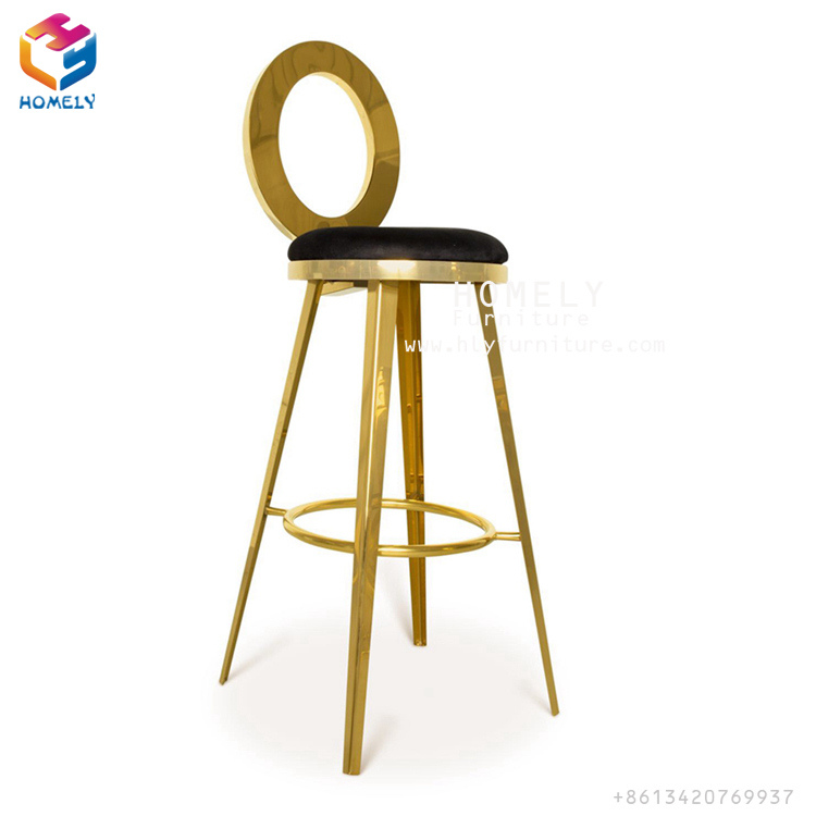 Factory Direct Sale Cheap Hotel Restaurant Wedding Event Banquet Furniture Stainless Steel Dining Chair