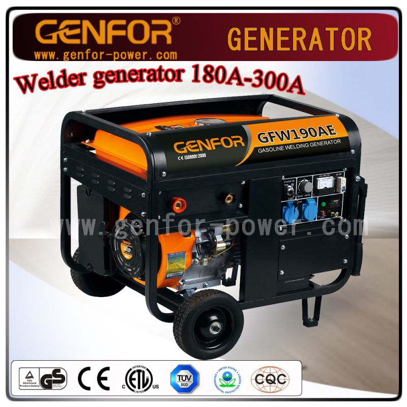 200A 5kw Gasoline Welding Generator From Chinese Factory