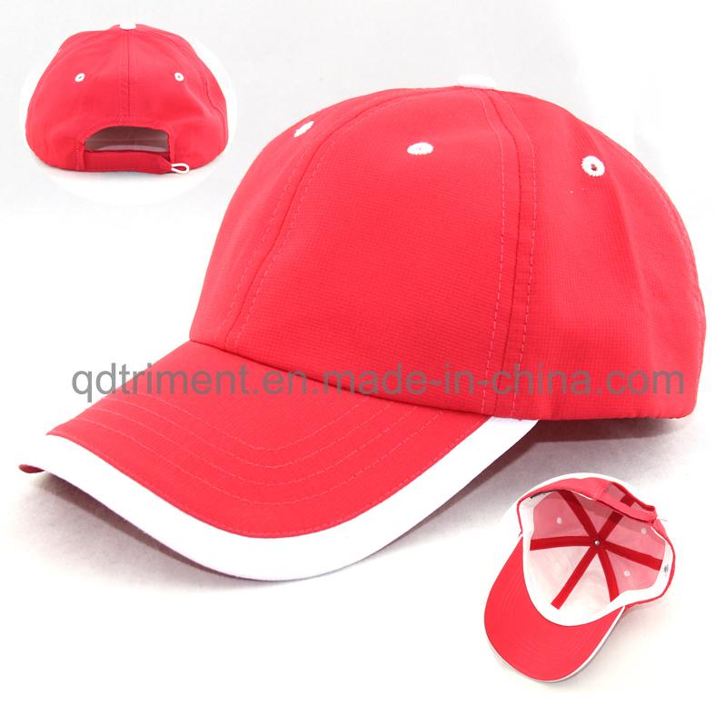 Reflective Banding 100% Polyester Neon Color Safety Baseball Cap (TMB0686)