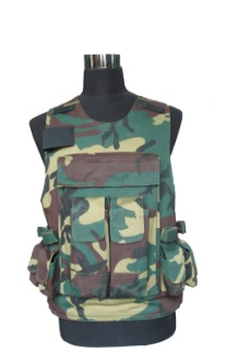 Tactical Type 7 Military Equipment 2 Grade Protection Soft Bulletproof Vest