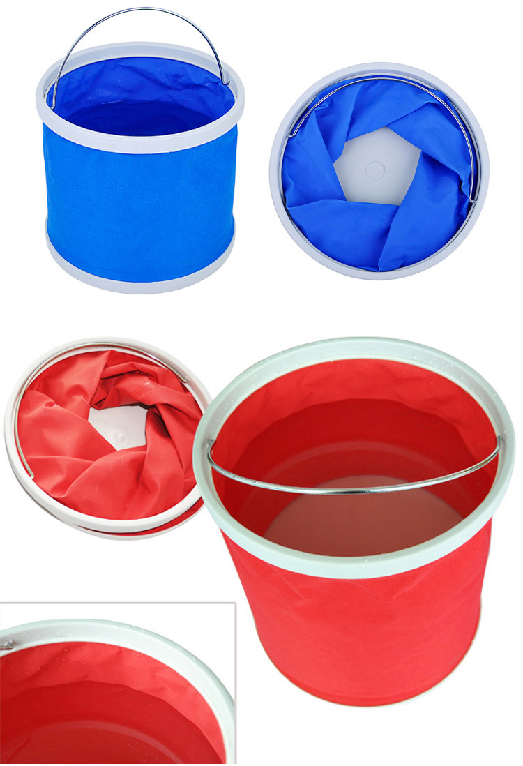 Portable Camping Foldable Water Bucket