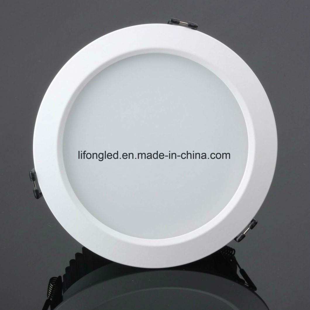 3000k Warm White Round LED Panel Lights 12W with 100lm/W