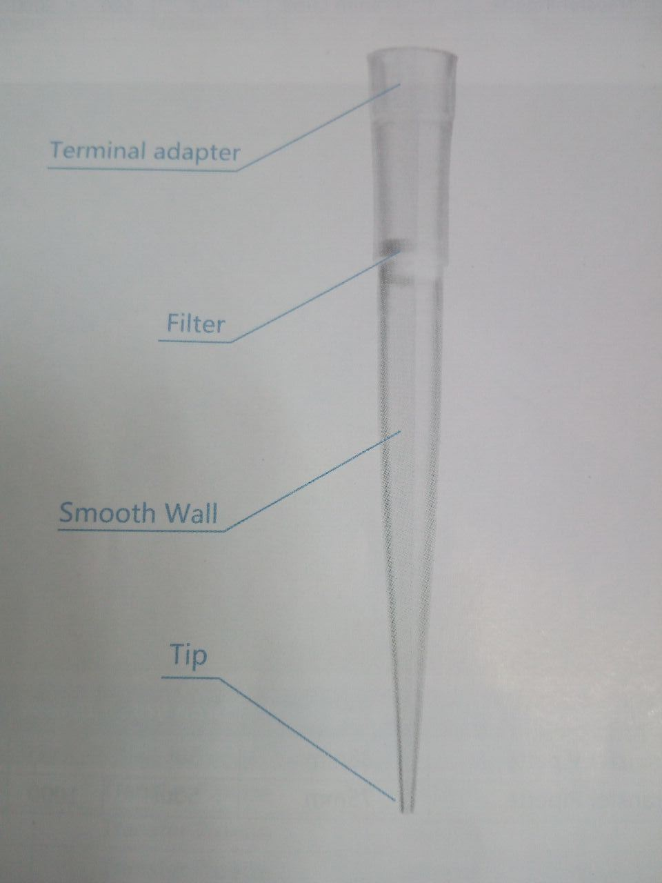 Disposable Pipette Tip with Ce