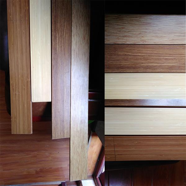 Horizontal Natural Solid Bamboo Flooring