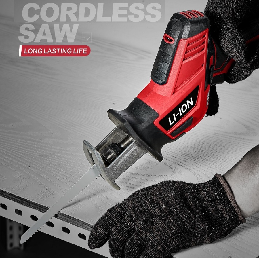 Cordless 18V Li-ion Reciprocating Saw CT-RS001