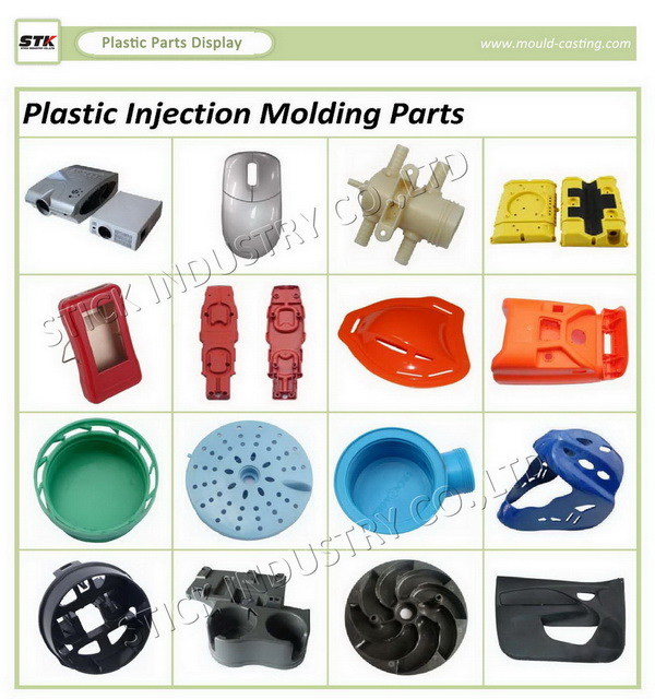 OEM Custom Plastic Injection Molding / Mould for Industrial Part