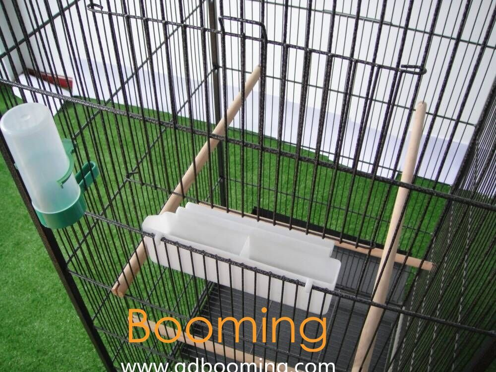 Customzied Wire Mesh Bird Cage with Feeder