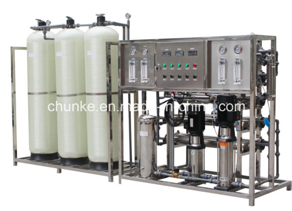 Effective Reverse Osmosis System Water Filter Machine Ss Steel