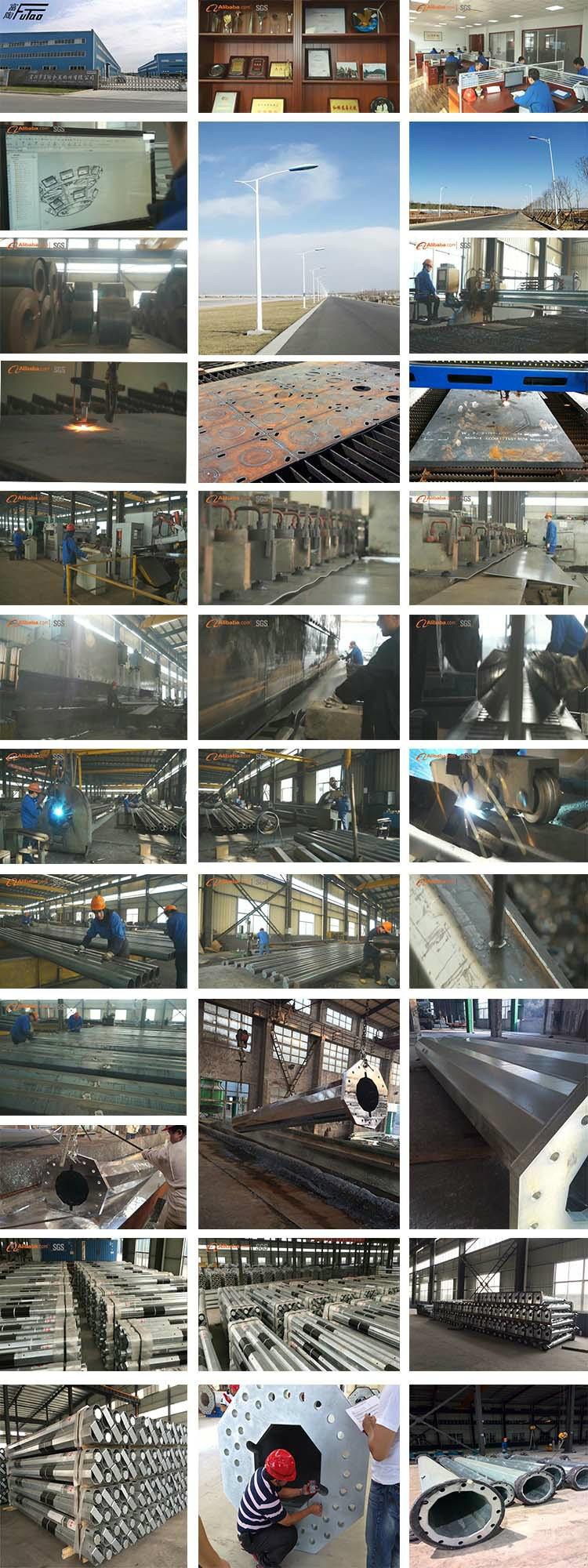 Hot DIP Galvanized Steel High Mast