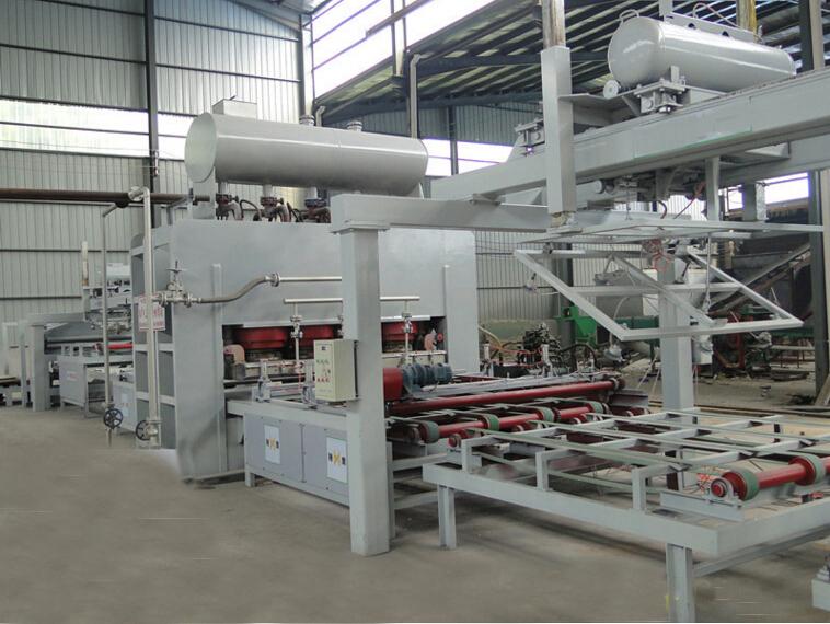 Automatic Short Cycle Melamine Laminating Hot Press Production Line
