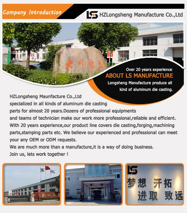 Aluminum Die Casting Parts Hikvision Supplier Aluminum Die Casting Camera Housing Factory Made in China