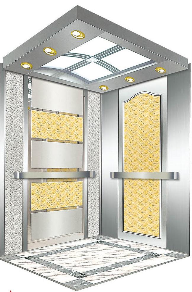 Passenger Elevator Lift Mirror Etched Mr & Mrl Aksen Ty-K218