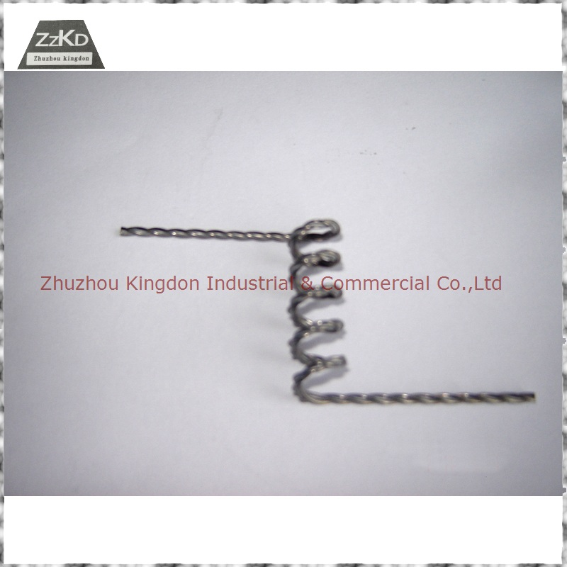 Tungsten Filament Stranded Tungsten Wire Tungsten Heater Element