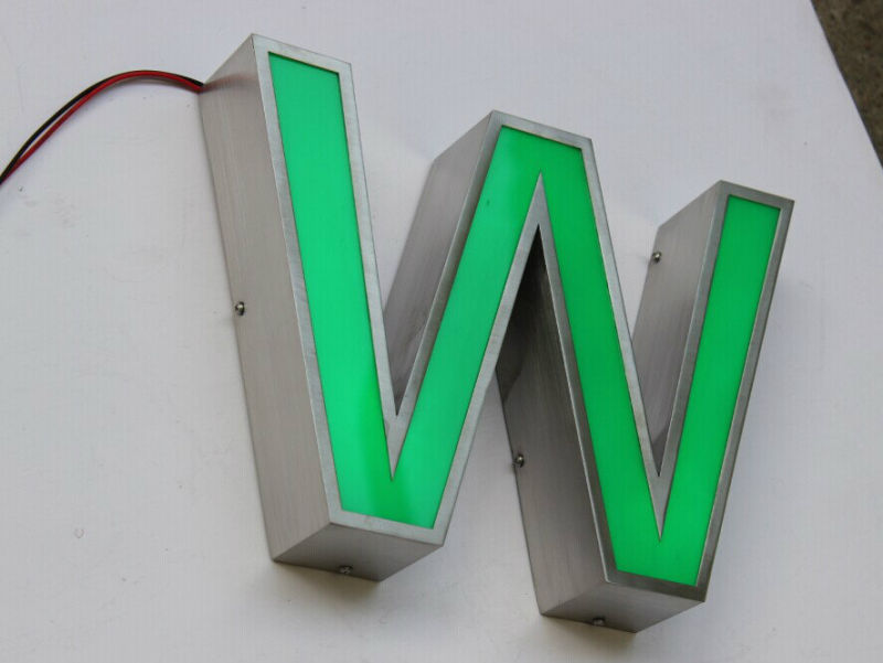 Front Lit LED Sing Channel Letter for Outdoor