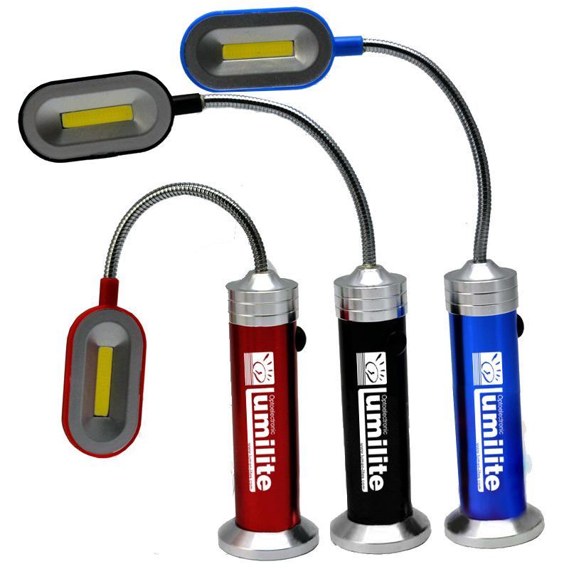 3watt Aluminum Magnetic Book Light Fllashlight Work Light Tool Light