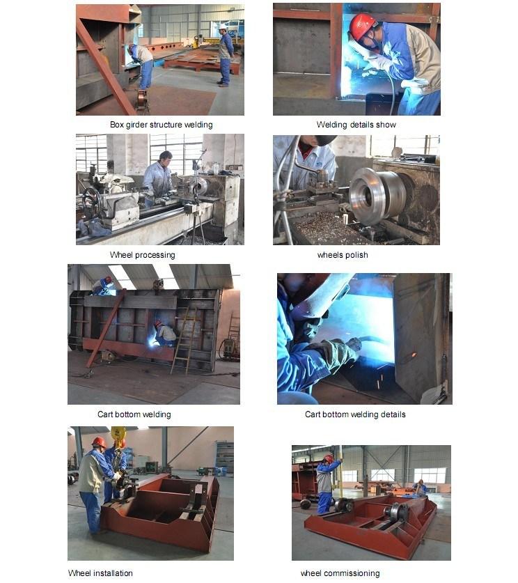 Driverless Motorized Rail Vehicle Used in Heavy Metal Industry (KPT-16T)