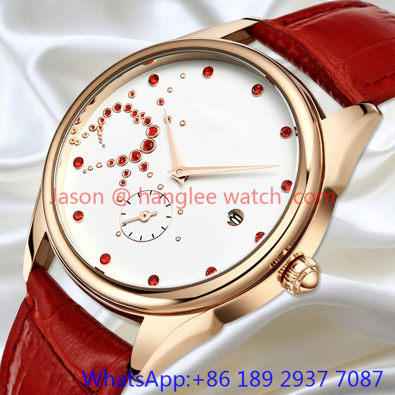 2015 Fashion Best Quality Alloy Lady Quartz Watch (Ja-182)