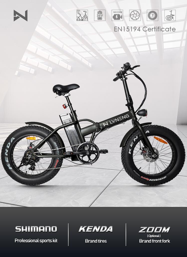 250-500w EU EN15194 fat tire electric bike