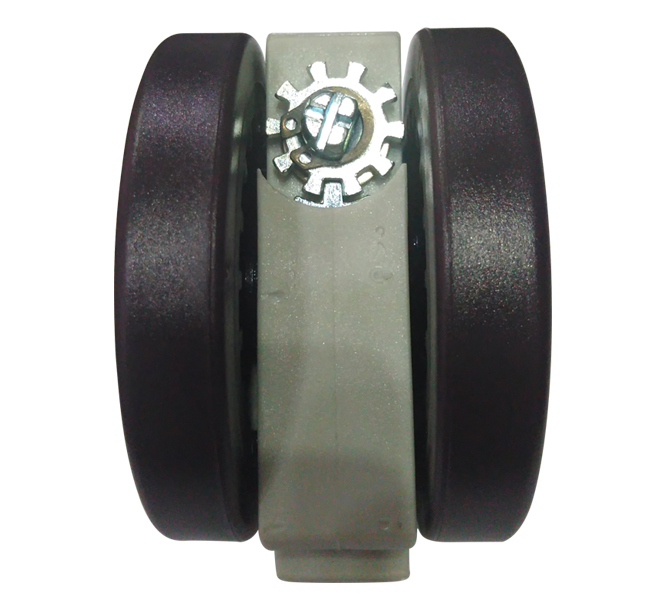 75mm PVC Caster Wheel with Brake for Medical Care Equipment