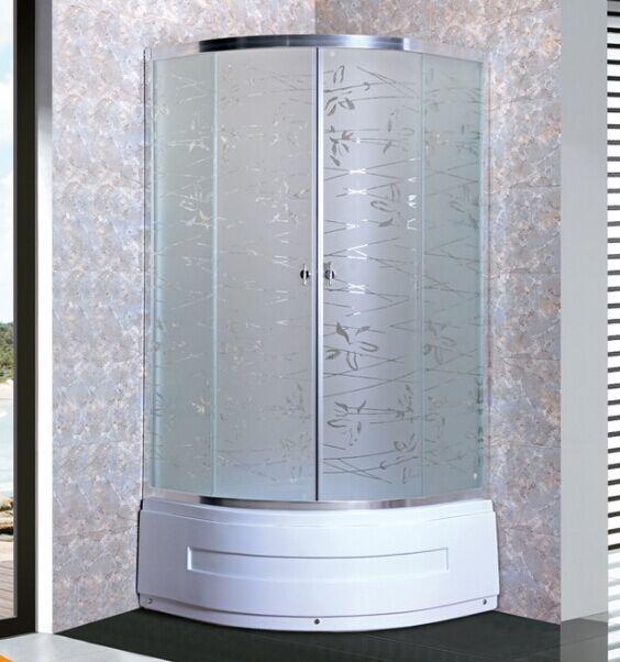 Acid Glass Shower Enclosure (ADL-8035D)