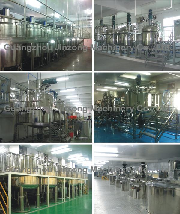 Jinzong Machinery Food Mixer Machine with Homgenizer