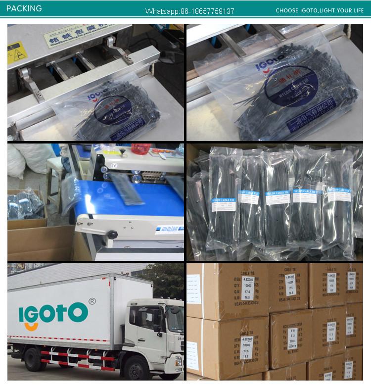 China Wholesale White Heaating Resistance Nylon Tie Wraps Sizes