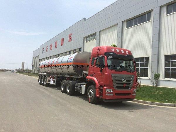 45cbm 3-Axle Oil Fuel Tank Semi Trailer