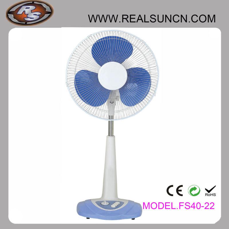 High Quality DC Solar Desk Fan New in 2016